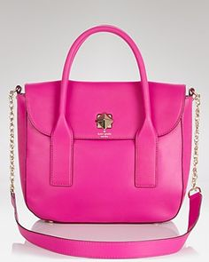 Kate Spade satchel... Perfect pop of color for any Spring outfit.