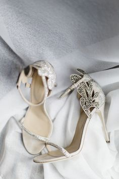Glam Sergio Rossi wedding shoes: Photography : CLY BY MATTHEW - http://www.clybymatthew.com/
