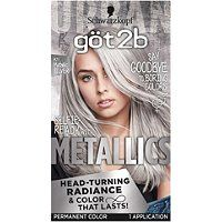 Boost your hair color with unique metallic radianceFor a multi-dimensional metallic lookHead-turning radiance and anti-fading effect for permanent hair dye that lasts.Formulated with metallic-shine booster for cool, shimmering tonesIn the box: 1 tube colo Grey Hair Dye, Dyed Hair, Ombre Hair, Metallic Hair Color, Hair Color Silver Grey, Best Silver Hair Dye, Pelo Color Plata, Hair Shades, White Hair