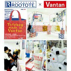 【バンタンデザイン研究所】ROOTOTE×Vantan オリジナルトートバッグ展示会、12/17(月)~23(日)開催中!