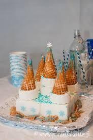 Bildresultat för slott glass tårta elsa