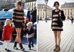 camel & black stripes