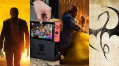 March 2017 should be excellent. I can't wait to hear Alan Menken's Beauty and the Beast score on IMAX speakers. Logan and Iron Fist should rock. A new Nintendo console is always exciting. Bring it on!