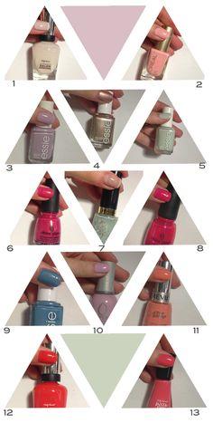 spring nail polish colors
