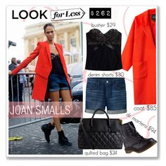 """""""look for less : joan smalls"""" by nanawidia ❤ liked on Polyvore featuring Uniqlo, Pieces, Monki, Christies, Dr. Martens, LookForLess, contestentry, polyvoreeditorial and polyvorecontest"""
