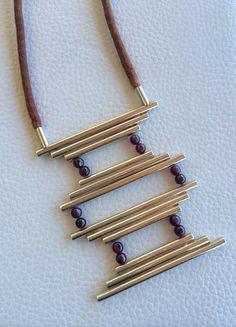 Design by Tanya Ricketts - Silver 925 & Grenade Stone