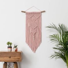 Are you interested in our Macrame wall hanging? With our wall hanging you need look no further.