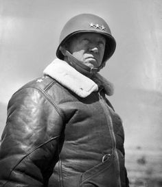 General George Patton told it like it is. George Patton, My Champion, Lieutenant General, Quote Of The Week, Life Magazine, World War Two, Wwii, Army, Leather Jacket