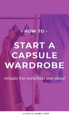 Want to start a Capsule Wardrobe? Check out these actionable tips to create outfits, declutter your wardrobe and always have something to wear. Make Money Online, How To Make Money, How To Get, Minimalist Wardrobe, Minimalist Fashion, Business Outfits, Office Outfits, Weekend Style, Stressed Out
