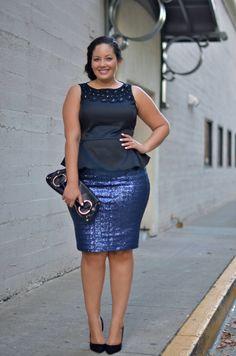 www.GirlWithCurves.com: Glitz #curvy #plussizefashion