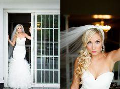Dramatic bridal photos / Gorgeous Glen Sanders Mansion Summer Wedding – © Matt Ramos Photography
