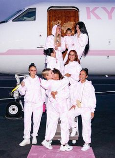 Kylie Jenner took some of her friends (and Stormi) on vacation to promote her new Kylie Skin products. The whole vacation looks VERY swanky, and includes a customized private jet.