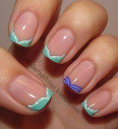 Little Mermaid inspired manicure!