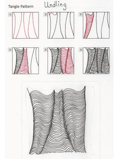 How to draw UNDLING « TanglePatterns.com - Pinned with Pin Anything from pin4ever.com