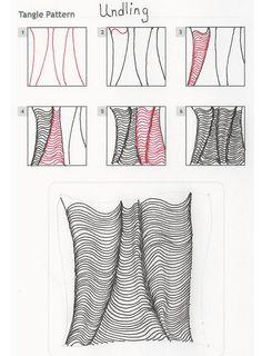 Zentangle Pattern by Susie Achter. Zentangle Drawings, Doodles Zentangles, Doodle Drawings, Tangle Doodle, Zen Doodle, Doodle Art, Doodle Patterns, Zentangle Patterns, Zantangle Art