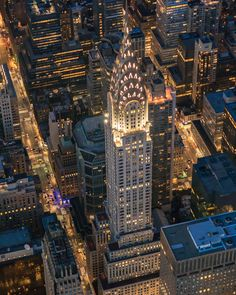 Chrysler Building from FlyNYON Doorless Helicopter Flight