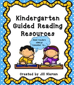 Teacher and student guided reading resources for Levels PreA--J+.  This products will be like having your own personal literacy coach for guided reading.  In it you will find resources for lesson implementation, assessment, data tracking, dynamic groupings, writing and much more.See the preview for what's included.