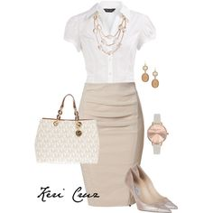 """Office fashionista"" by keri-cruz on Polyvore"