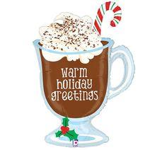 "36"" Christmas Hot Chocolate Balloon"