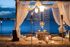 All-White Wedding Setting: Pristine Wedding Luxury at Jumby Bay, a Rosewood Resort Romantic Beach, Romantic Dates, Romantic Dinners, Romantic Evening, Beach Romance, Romantic Picnics, Romantic Moments, Romantic Getaways, All White Wedding