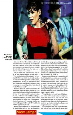 """Bonamassa Elmore Magazine Feature"""