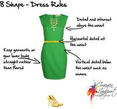 Body Shape Bible: Understanding How to Dress 8 Shape Bodies