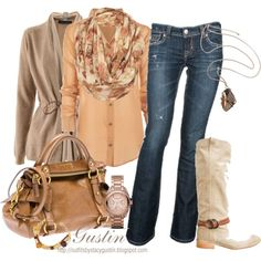 fall color, love everything here and really loving the boots!