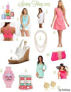 Preppy Girl Summer Outfits 2015-2016 | MyFashiony