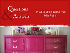 We named our product Milk Paint with the intention of putting a clear, bright, contemporary spin on an old fashioned furniture paint tradition. Get all the details of this great product! Kitchen Table Chairs, Table And Chairs, Painted Furniture, Diy Furniture, Paint Store, General Finishes, Milk Paint, Furniture Inspiration, Painting Tips