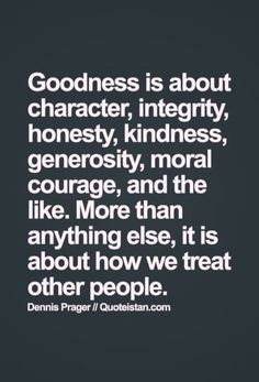 Do you have goodness in you?
