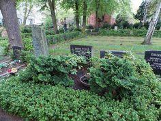 Der Friedhof.