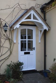Cottage door canopy wooden front door porch : entrance door canopies - memphite.com