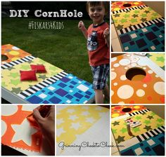 DIY Cornhole and giving to kids who don't have craft supplies with Fiskars and Champions for Kids #cfk #Fiskars4Kids #shop