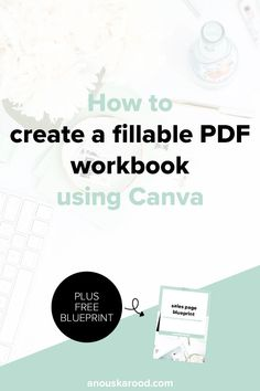 How to create a fillable PDF workbook using Canva. Create a workbook or worksheet for a workshop, webinar or digital course.
