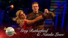 Greg Rutherford & Natalie Lowe American Smooth to 'Everything I Do' - St...