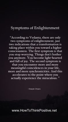 Quotes for Motivation and Inspiration QUOTATION - Image : As the quote says - Description Symptoms of Enlightenment ~ I have found this to be quite true Great Quotes, Quotes To Live By, Me Quotes, Inspirational Quotes, Im Beautiful Quotes, Spiritual Enlightenment, Spiritual Quotes, Spiritual Metaphysics, Hinduism Quotes