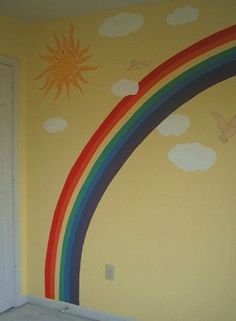 Decorating theme bedrooms - Maries Manor: rainbow theme bedrooms - rainbow bedroom decorating ideas