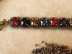 Bracelet Making Project: Adding Seed Beads to DIY Crystal Cup Chain - Daily Beading Blogs - Blogs - Beading Daily