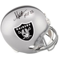 0e8cb568db8 Marcus Allen Los Angeles Raiders Fanatics Authentic Autographed Replica  Helmet with