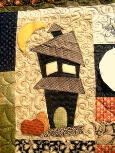 Halloween quilt. How cute is this block