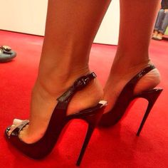 "@louboutinsmile's photo: ""Pic of the day. Courtesy @flordemariafashion  #christianlouboutin #louboutin #redsoles #redbottom #louboutinparis #heels #highheels #stiletto #sandals #feet #sexyfeet #toes #toecleavage #prostishoes #pornoshoes #fetish #footfetish #instep #arch #higharch #legs #flordemariafashion #louboutinsmile #followme"""