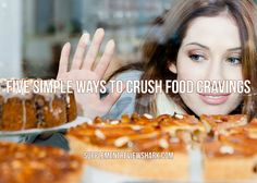 Having trouble staying away from the junk food?  Here is Five Simple Ways to Crush Food Cravings:  http://www.supplementreviewshark.com/food-cravings/