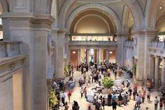 "Great Hall at The Metropolitan Museum of Art ... ""The Met"" ... Upper East Side of Manhattan, NYC"