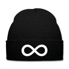 Infinity Beanie - Available Here: http://sondersky.spreadshirt.com.au/infinity-A18448002