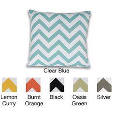 Chevron 20x20-inch Cotton Pillow
