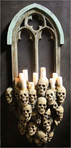 gothic halloween decorations | Gothic Windows make the perfect halloween decorations for any haunted ...
