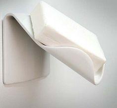 Escurridor de jabón de barra.
