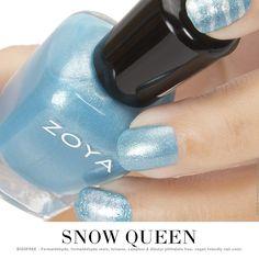 Snow Queen Mani! Zoya Rebel, Zoya Mosheen, & Zoya Ginessa