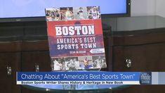 Sports Writer Sean McAdam talks new book Boston Sports, Book Show, New Books, Writer, News, Sign Writer