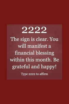 2222 Meaning